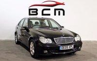 2005 MERCEDES-BENZ C CLASS 1.8 C200 KOMPRESSOR CLASSIC SE 4d AUTO 163 BHP £2500.00