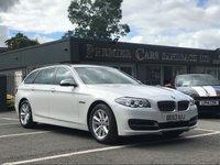 2013 BMW 5 SERIES 2.0 520D SE TOURING 5d AUTO 181 BHP £13990.00