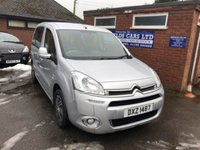 2012 CITROEN BERLINGO MULTISPACE 1.6 HDI VTR 5d 91 BHP WHEELCHAIR ADAPTED MOTABILITY £6790.00