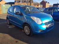 USED 2014 64 SUZUKI ALTO 1.0 SZ3 5d 68 BHP WITH AIR CONDITIONING, AUXILLIARY AND USB!!..EXCELLENT FUEL ECONOMY!..LOW CO2 EMISSIONS..£0 ROAD TAX..FULL HISTORY(3 SERVICES)..ONLY 9830 MILES FROM NEW!!