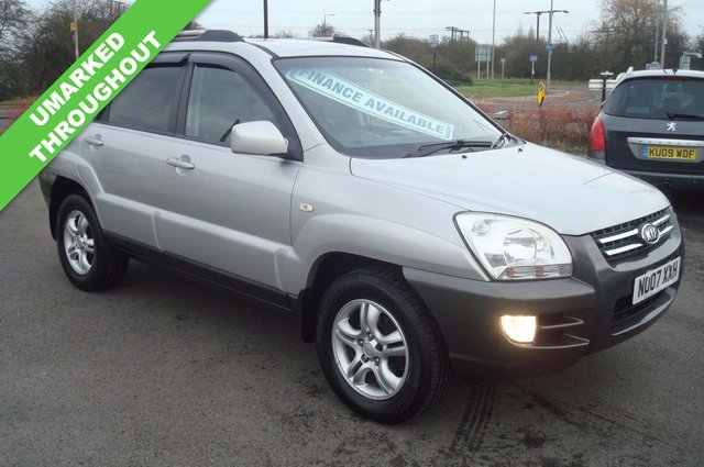2007 07 KIA SPORTAGE 2.0 XE CRDI 5d 139 BHP TOTALLY UNMARKED THROUGHOUT