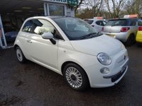USED 2012 12 FIAT 500 0.9 TWINAIR LOUNGE DUALOGIC 3d AUTOMATIC 85 BHP Low Mileage, Full Service History + Just Serviced by ourselves, MOT until January 2019 (no advisories), Automatic, Excellent on fuel economy! FREE Road Tax!
