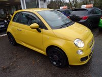 USED 2014 64 FIAT 500 1.2 S (SPORT) 3d 69 BHP Low Mileage, One Lady Owner from new, MOT until October 2018 (no advisories), Just Serviced by ourselves, Great on fuel economy! Only £30 Road Tax!