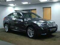 USED 2014 64 BMW X4 3.0 XDRIVE35D M SPORT 4d AUTO 309 BHP++++VERY RARE TWIN TURBO MODEL+++++