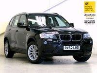 2012 BMW X3 2.0 XDRIVE20D SE 5d AUTO 181 BHP £17487.00