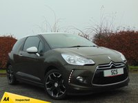 USED 2013 63 CITROEN DS3 1.6 E-HDI DSTYLE PLUS 3d  **ECONOMICAL DIESEL**£0 ROAD TAX**