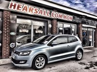 USED 2012 61 VOLKSWAGEN POLO 1.2 BLUEMOTION TDI 3d 74 BHP