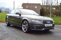 2009 AUDI A4 2.0 TDI SE 4d 143 BHP BLACK EDITION £7995.00