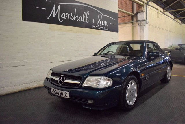 View our MERCEDES-BENZ SL 500