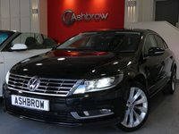 USED 2015 65 VOLKSWAGEN CC 2.0 TDI GT BLUEMOTION TECH 4d 150 S/S FACE LIFT MODEL, SAT NAV, FULL LEATHER INTERIOR, HEATED FRONT SEATS, FRONT & REAR PARKING SENSORS, DAB RADIO, BLUETOOTH PHONE & MUSIC STREAMING, PRIVACY GLASS, XENON HEADLAMPS, HEADLAMP WASHERS, CRUISE CONTROL, LIGHT & RAIN SENSORS WITH AUTO DIMMING REAR VIEW, USB INPUT, 2x SD CARD READERS, 1 OWNER FROM NEW, FULL SERVICE HISTORY, £30 ROAD TAX