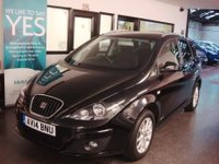 USED 2014 14 SEAT ALTEA XL 1.6 TDI CR ECOMOTIVE SE COPA 5d 105 BHP One owner, Seat service history, supplied with 12 months Mot. Lovely level of specification