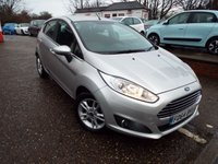 USED 2014 64 FORD FIESTA 1.2 ZETEC 5d 81 BHP One Owner Ford Service Record