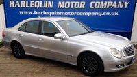 2006 MERCEDES-BENZ E CLASS 2.1 E220 CDI ELEGANCE 4d AUTO 168 BHP £4999.00