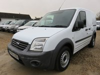 2012 FORD TRANSIT CONNECT 1.8 TDCi T220 SWB LOW ROOF 110 BHP ONLY 14921 MILES £5995.00