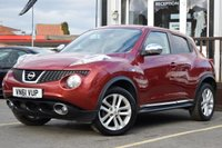 USED 2012 61 NISSAN JUKE 1.5 ACENTA PREMIUM DCI 5d 110 BHP SUPERB LOOKING CAR, NEW SERVICE WHEN CAR SOLD, PLENTY OF GOOD FEATURES