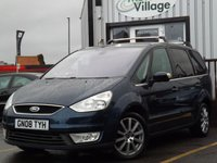 USED 2008 08 FORD GALAXY 2.0 GHIA TDCI 5d 143 BHP Full Service History 8 Stamps, Large 7-seater vehicle, MOT until June, Nice spec