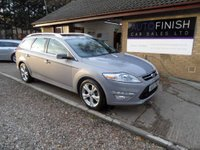 USED 2012 12 FORD MONDEO 2.0 TITANIUM X TDCI 5d 138 BHP 1 OWNER FROM NEW, FULL SERVICE HISTORY, 2 KEYS, SUNROOF, HEATED FRONT SEATS, FRONT AND REAR PARKING SENSORS, FOLDING MIRRORS
