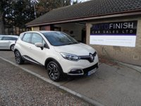 USED 2014 14 RENAULT CAPTUR 1.5 DYNAMIQUE MEDIANAV ENERGY DCI S/S 5d 90 BHP FULL COLOUR TOUCH SCREEN SAT-NAV, ZERO ROAD TAX, 1 OWNER, 2 KEYS