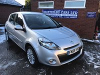 USED 2009 59 RENAULT CLIO 1.5 DYNAMIQUE DCI 5d 86 BHP £30 ROAD TAX, 64.2 MPG COMBINED