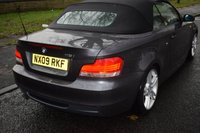 USED 2009 09 BMW 1 SERIES 2.0 118I M SPORT 2d Convertible 141 BHP SERVICE HISTORY, SPORT LEATHER, ELECTRIC SOFT TOP, 6 SPEED MANUAL