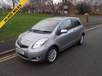USED 2009 58 TOYOTA YARIS 1.3 SR VVT-I 3d 99 BHP 30,000 GUARANTEED MILES - SERVICE HISTORY - 2 OWNERS FROM NEW - £30 PER YEAR ROAD TAX