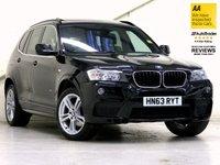 2014 BMW X3 2.0 XDRIVE20D M SPORT 5d AUTO 181 BHP [HUGE SPEC] £19687.00