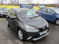 USED 2014 64 TOYOTA AYGO 1.0 VVT-I X-PLAY X-SHIFT 5d AUTO 69 BHP WAS £7,295 NOW ONLY £6,995 !!