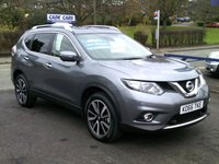 2017 NISSAN X-TRAIL 2.0 N-VISION DCI XTRONIC 4WD 5d AUTO 175 BHP £19995.00