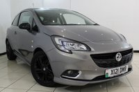 USED 2015 65 VAUXHALL CORSA 1.4 LIMITED EDITION 3DR 89 BHP BLUETOOTH + CRUISE CONTROL + MULTI FUNCTION WHEEL + RADIO/CD + 16 INCH ALLOY WHEELS