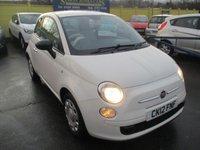 2012 FIAT 500 1.2 POP 3d 69 BHP £4995.00