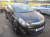 2015 VAUXHALL CORSA 1.2 LIMITED EDITION 3d 83 BHP £5995.00