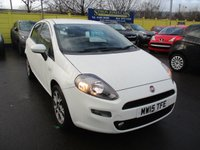 USED 2015 15 FIAT PUNTO 1.2 EASY 5d 69 BHP WAS £6,495 NOW ONLY £5,995 !!