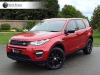 USED 2016 16 LAND ROVER DISCOVERY SPORT 2.0 TD4 HSE 5d AUTO 180 BHP  VAT QUALIFYING VAT QUALIFYING  LOW MILEAGE AUTOMATIC