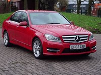 USED 2014 63 MERCEDES-BENZ C CLASS 1.6 C180 BLUEEFFICIENCY AMG SPORT 4d 154 BHP