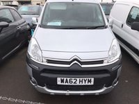 2012 CITROEN BERLINGO MULTISPACE 1.6HDI XTR MULTISPACE WHEELCHAIR ADAPTED ELECTRIC WINCH MOTABILITY £6690.00