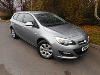 USED 2014 64 VAUXHALL ASTRA 1.6 DESIGN CDTI ECOFLEX S/S 5d 134 BHP * 1 Owner from new*