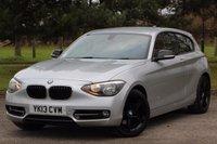 2013 BMW 1 SERIES 1.6 118I SPORT 3d 168 BHP £10480.00