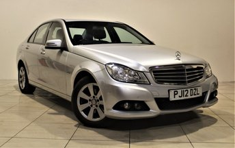 2012 MERCEDES-BENZ C CLASS 2.1 C220 CDI BLUEEFFICIENCY SE 4d AUTO 168 BHP £8985.00