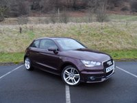 USED 2013 63 AUDI A1 1.4 TFSI S LINE 3d 122 BHP EXCELLENT CONDITION, LOW MILEAGE, SERVICE HISTORY.
