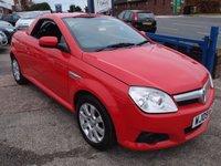 2009 VAUXHALL TIGRA 1.4 16V TWINPORT 2d 90 BHP £2295.00