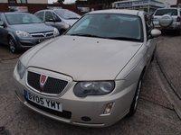 2005 ROVER 75 2.0 CONNOISSEUR CDTI 4d 129 BHP £1995.00
