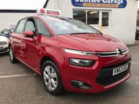 USED 2014 63 CITROEN C4 PICASSO 1.6 E-HDI AIRDREAM VTR PLUS 5d 113 BHP VTR +, £20 road tax, Bluetooth, Cruise control!