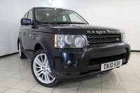 USED 2010 10 LAND ROVER RANGE ROVER SPORT 3.0 TDV6 HSE 5DR AUTOMATIC 245 BHP FULL SERVICE HISTORY + HEATED LEATHER SEATS - FRONT/REAR + SAT NAVIGATION + REVERSE CAMERA + SUNROOF + BLUETOOTH + CRUISE CONTROL + 20 INCH ALLOY WHEELS