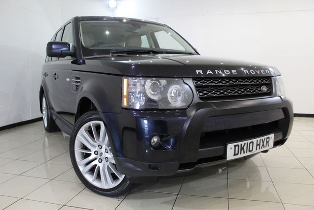 View our 2010 10 LAND ROVER RANGE ROVER SPORT 3.0 TDV6 HSE 5DR AUTOMATIC 245 BHP