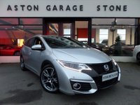 USED 2016 16 HONDA CIVIC 1.6 I-DTEC SR TOURER 5d 118 BHP ** NAV * CAMERA * FSH ** ** SAT NAV * CAMERA * DAB * F/S/H * CRUISE **