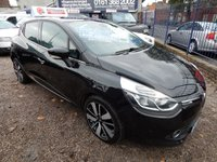 USED 2013 63 RENAULT CLIO 0.9 DYNAMIQUE S MEDIANAV ENERGY TCE S/S 5d 90 BHP SAT NAV, HEATED SEATS,REVERSE CAMERA,ALLOYS, F.S.H