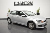 2013 VOLKSWAGEN GOLF 1.6 S TDI BLUEMOTION TECHNOLOGY 5d 103 BHP £6790.00