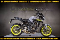 USED 2016 16 YAMAHA MT-09 900CC ABS  GOOD BAD CREDIT ACCEPTED, NATIONWIDE DELIVERY,APPLY NOW