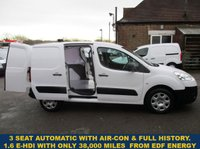 USED 2012 PEUGEOT PARTNER 605 SE E-HDI AUTOMATIC WITH 3 SEATS