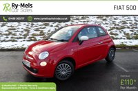 2013 FIAT 500 1.2 COLOUR THERAPY 3d 69 BHP £4990.00
